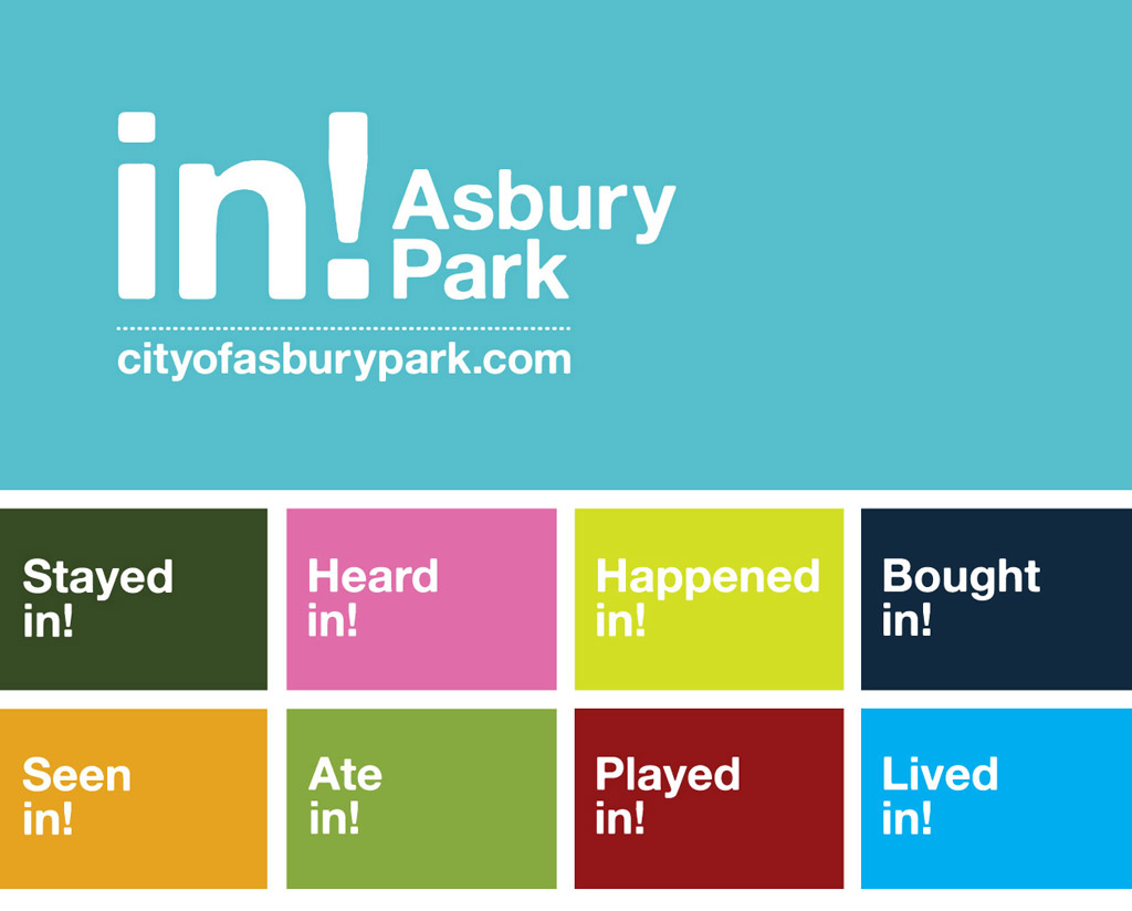 City of Asbury Park logo campaign design by M studio