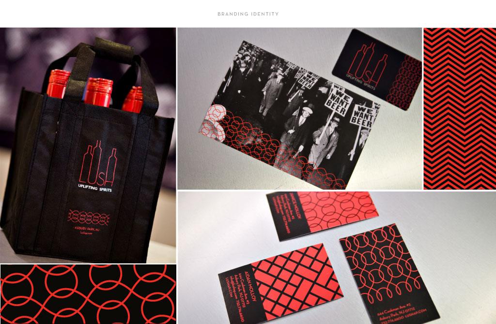 Lush branding by M studio