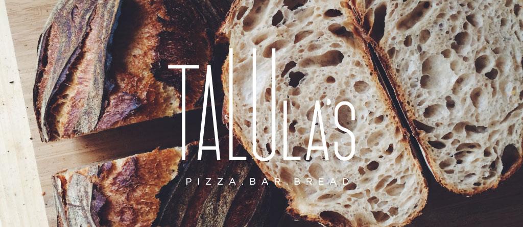 Talula's logo design by M studio