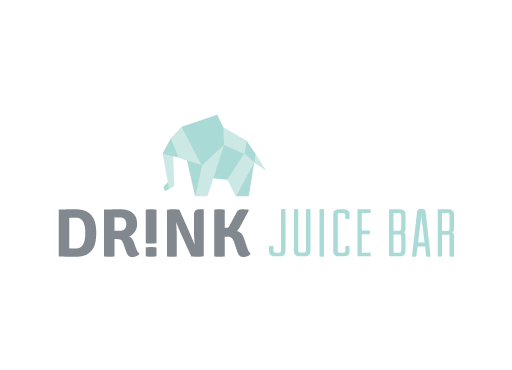 Drink Juice Bar logo design by M studio