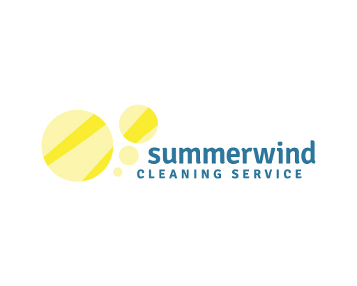 Summerwind Cleaning Logo Design by M studio
