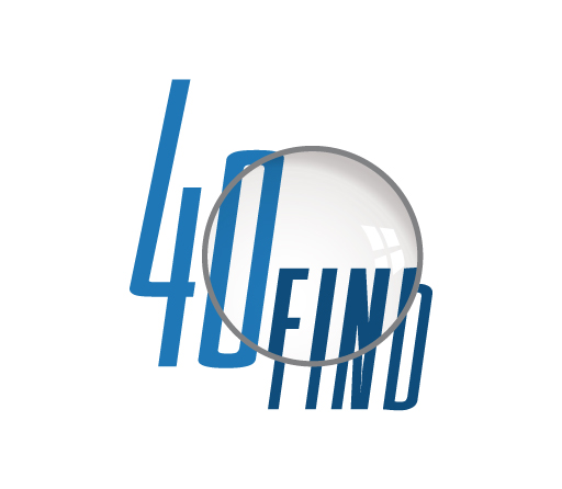 40 Find logo design by M studio