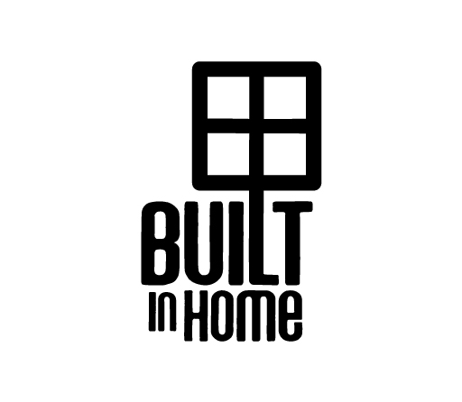 Built In Home logo design by M studio