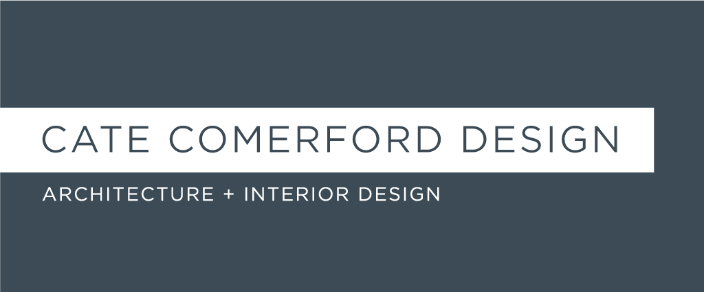 Cate Comerford Architecture logo design by M studio