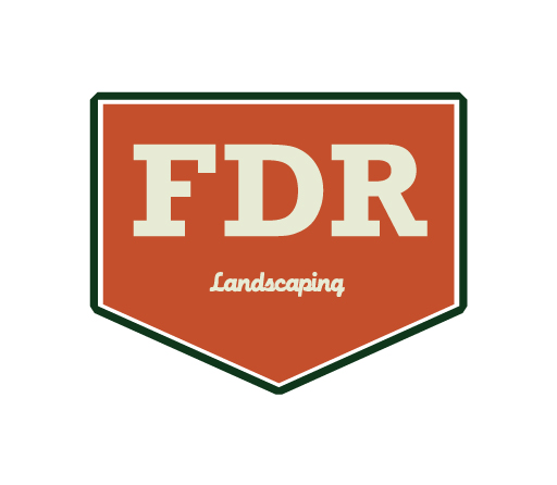 FDR Landscaping logo design by M studio