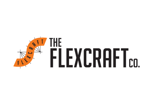 Flexcraft logo design by M studio