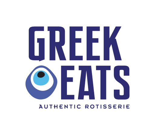 Greek Eats logo design by M studio
