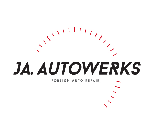 JA Autowerks logo design by M studio