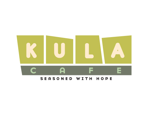 Kula Cafe logo design by M studio