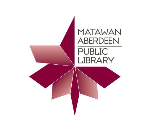 Matawan Aberdeen Public Library logo design by M studio