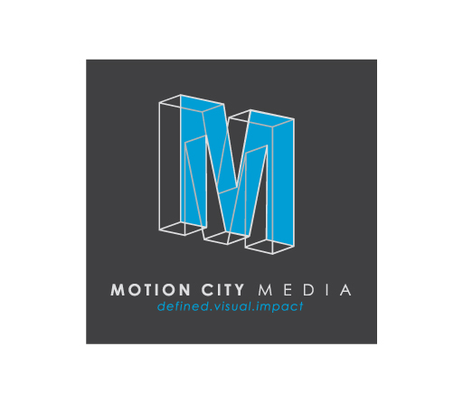 Motion City Media logo design by M studio