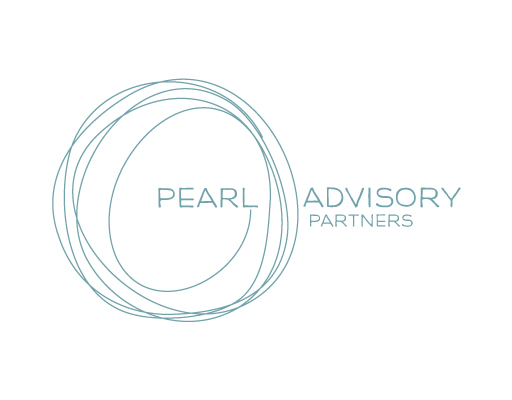 Pearl Advisory Partners logo design by M studio