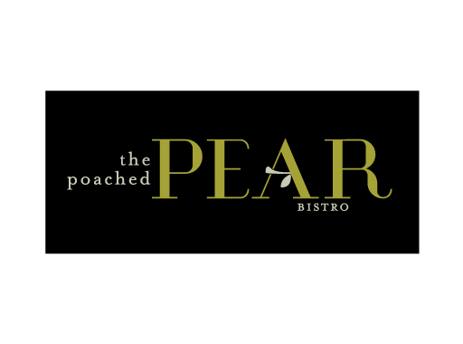 The Poached Pear logo design by M studio