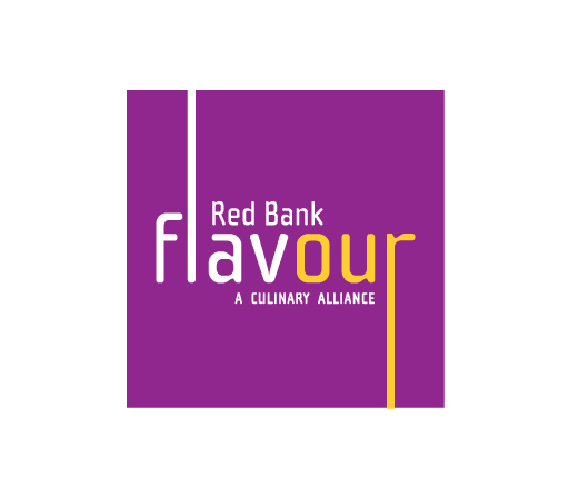 Red Bank Flavour logo design by M studio