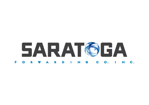 Saratoga Forwarding Co. Inc. logo design by M studio