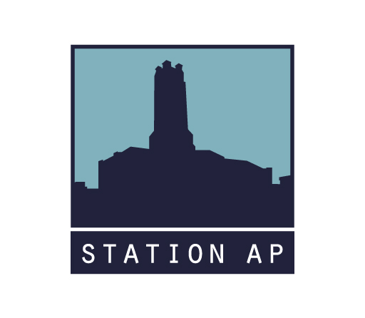 Station AP logo design by M studio