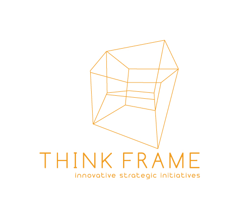 Think Frame logo design by M studio