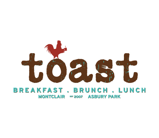 Toast logo design by M studio