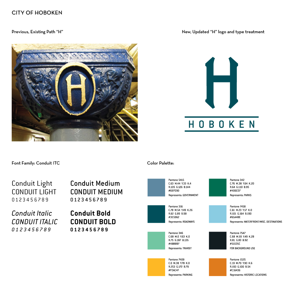 What's Old Is New Again : Executing a Successful Brand Identity Update | Blog by M studio - City of Hoboken