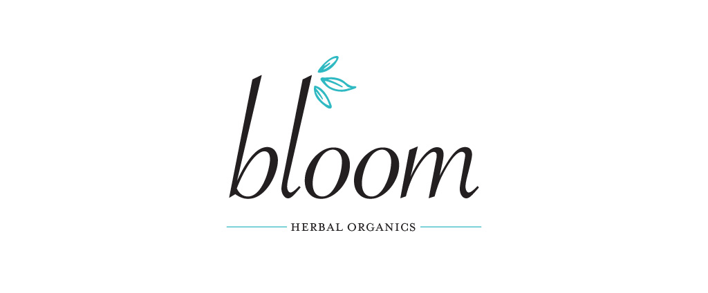 Bloom Herbal Organics logo design by M studio