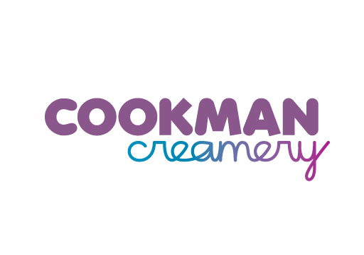 Cookman Creamery logo design by M studio