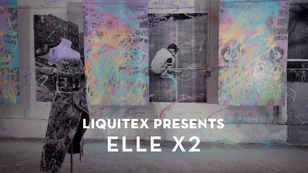 Liquitex Elle studio visit | M studio Video Production