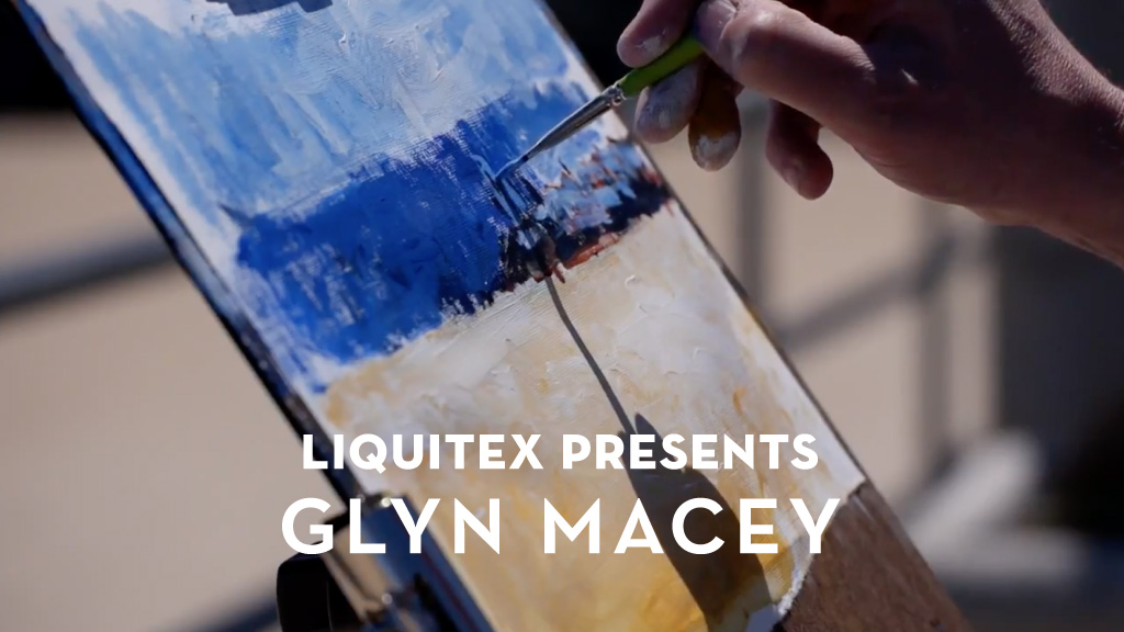Liquitex Glyn Macey | M studio Video Production