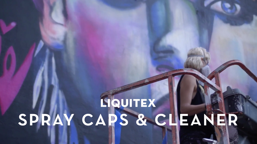 Liquitex Spray Paint Caps & Cleaner | M Studio Video Production