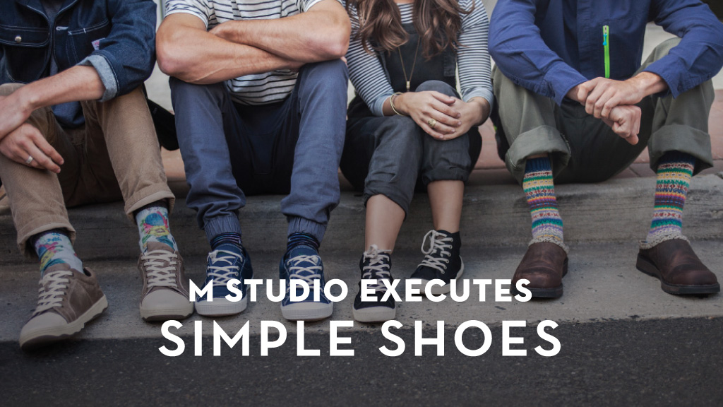 Simple Shoes Case Study | M studio Video Production