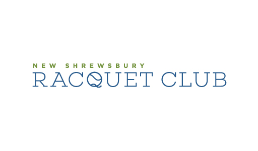 New Shrewsbury Racquet Club logo design by M studio