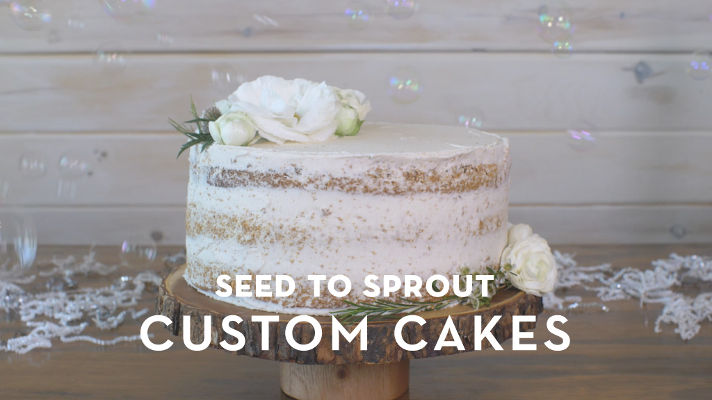 Seed to Sprout Custom Cakes | M studio Video Production