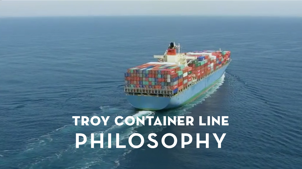 Troy Container Line Philosophy | M Studio Video Production